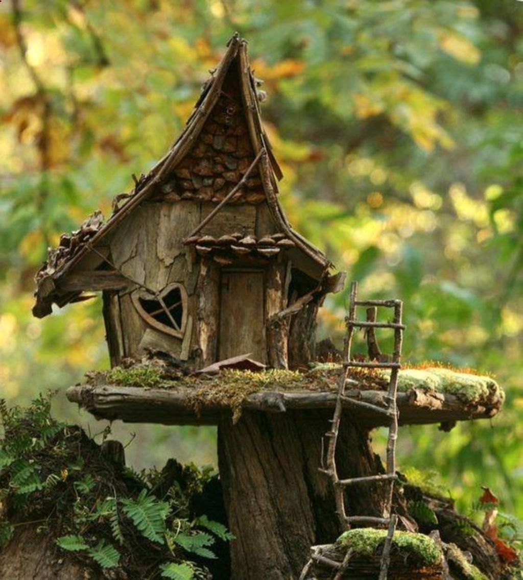 Unordinary Magical Fairy Garden Design Ideas To Try 42