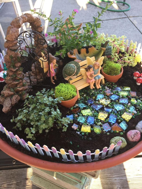 Unordinary Magical Fairy Garden Design Ideas To Try 44