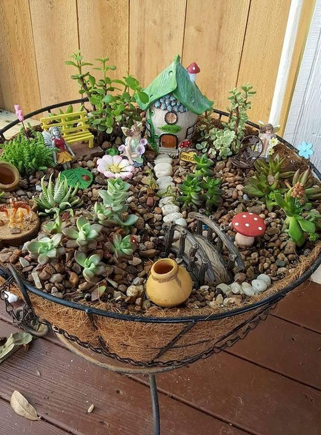 Unordinary Magical Fairy Garden Design Ideas To Try 45