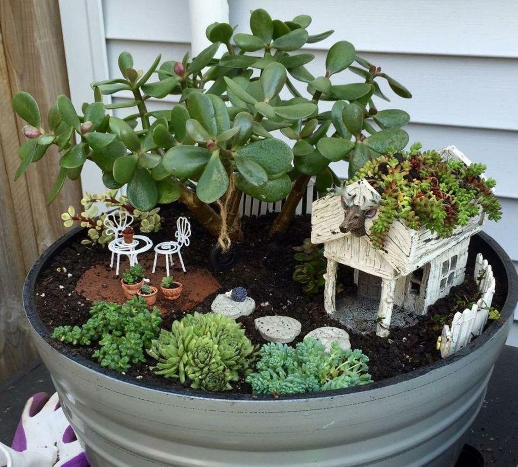 Unordinary Magical Fairy Garden Design Ideas To Try 48
