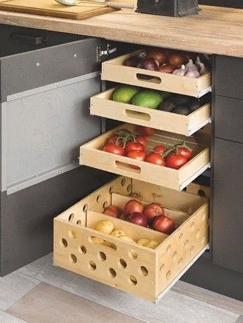 Adorable Kitchen Cabinet Ideas That Looks Neat To Try 30
