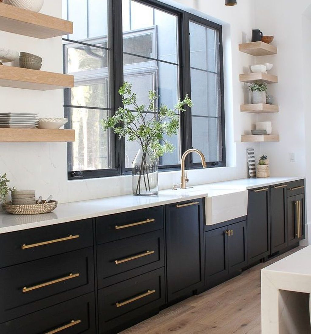 Adorable Kitchen Cabinet Ideas That Looks Neat To Try 31