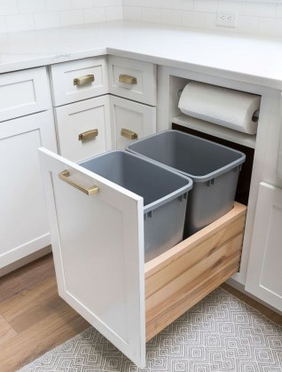 Adorable Kitchen Cabinet Ideas That Looks Neat To Try 33