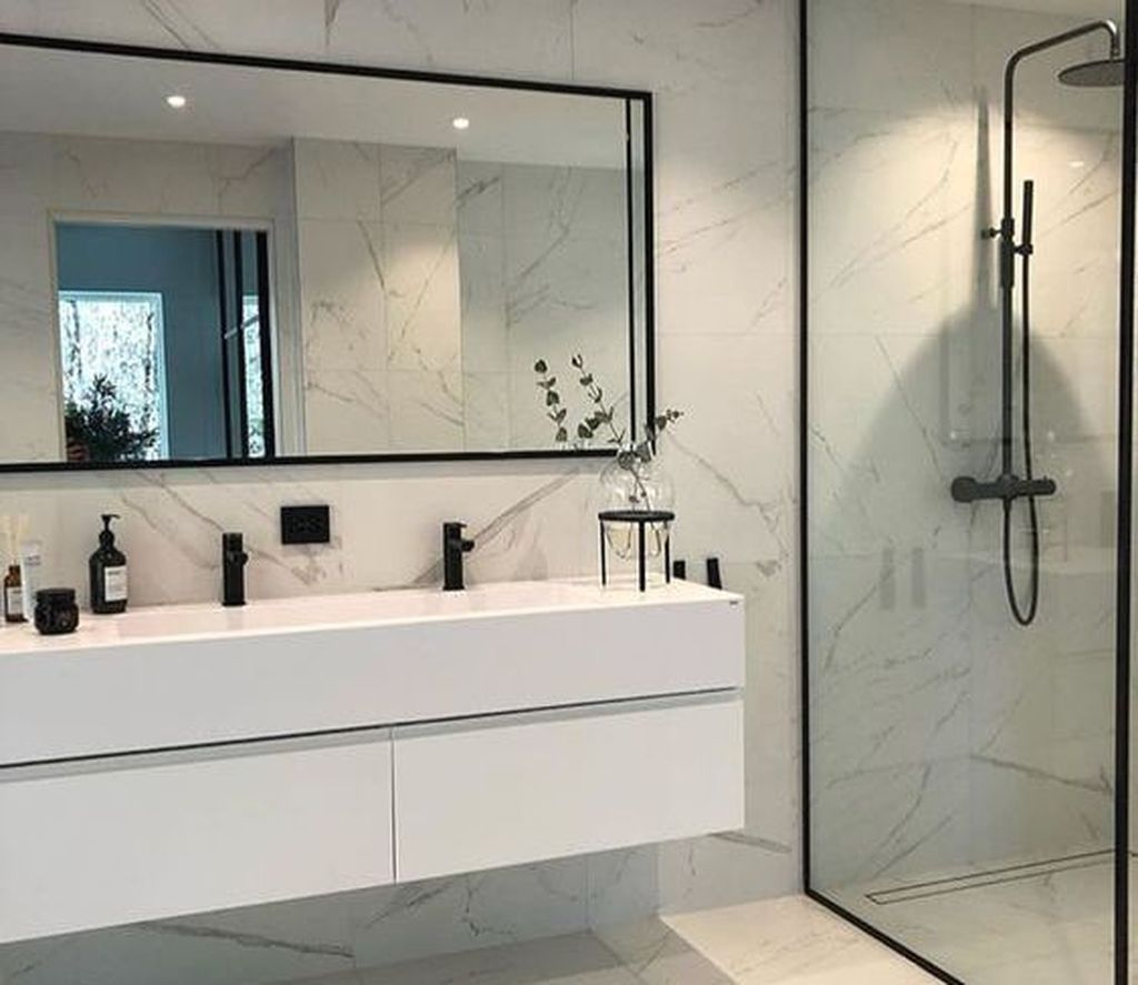 Best Minimalist Bathroom Design Ideas That Trendy Now 01