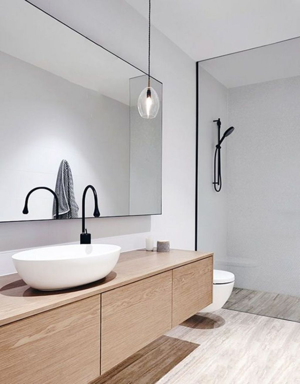 Best Minimalist Bathroom Design Ideas That Trendy Now 11