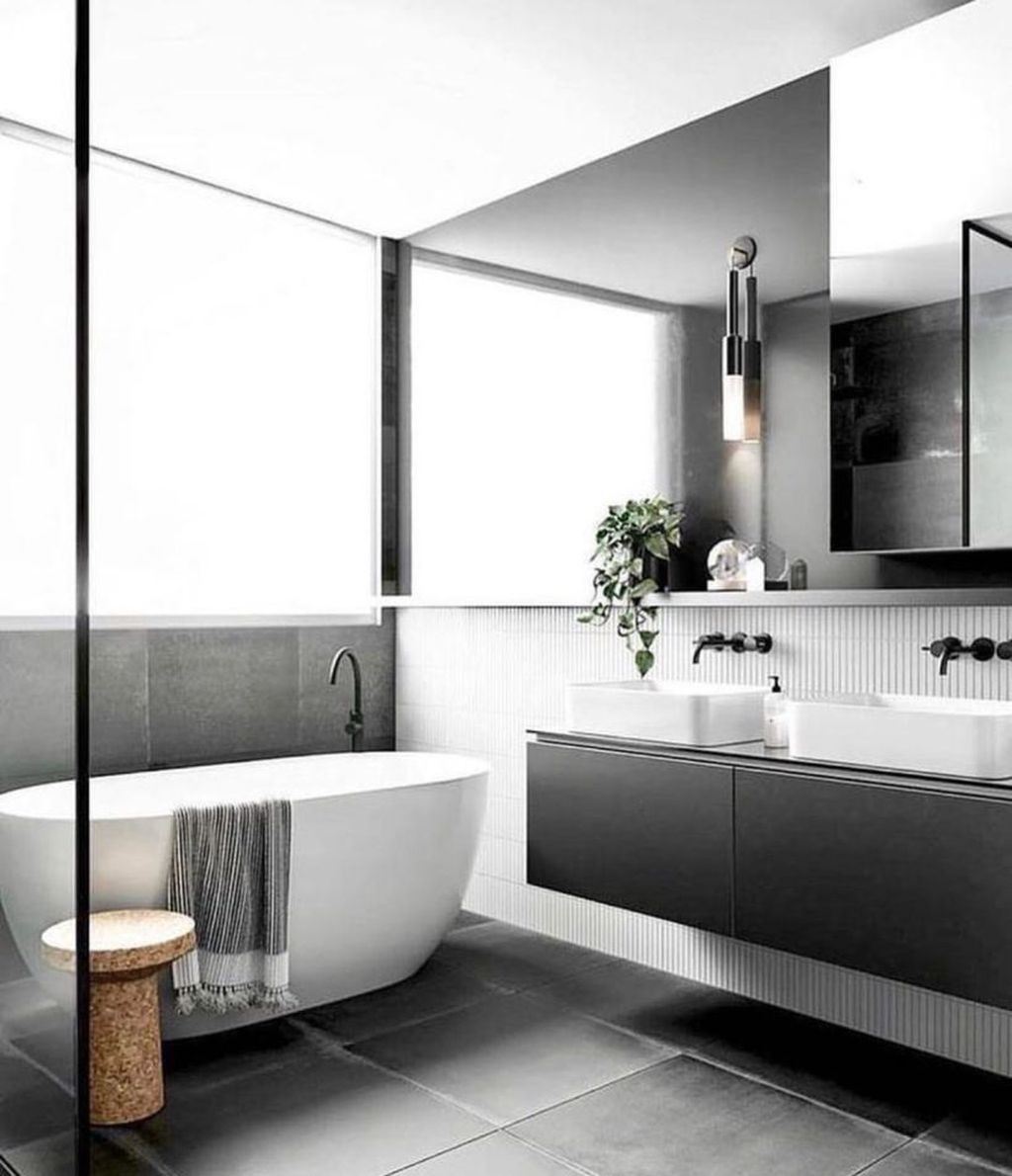 Best Minimalist Bathroom Design Ideas That Trendy Now 15
