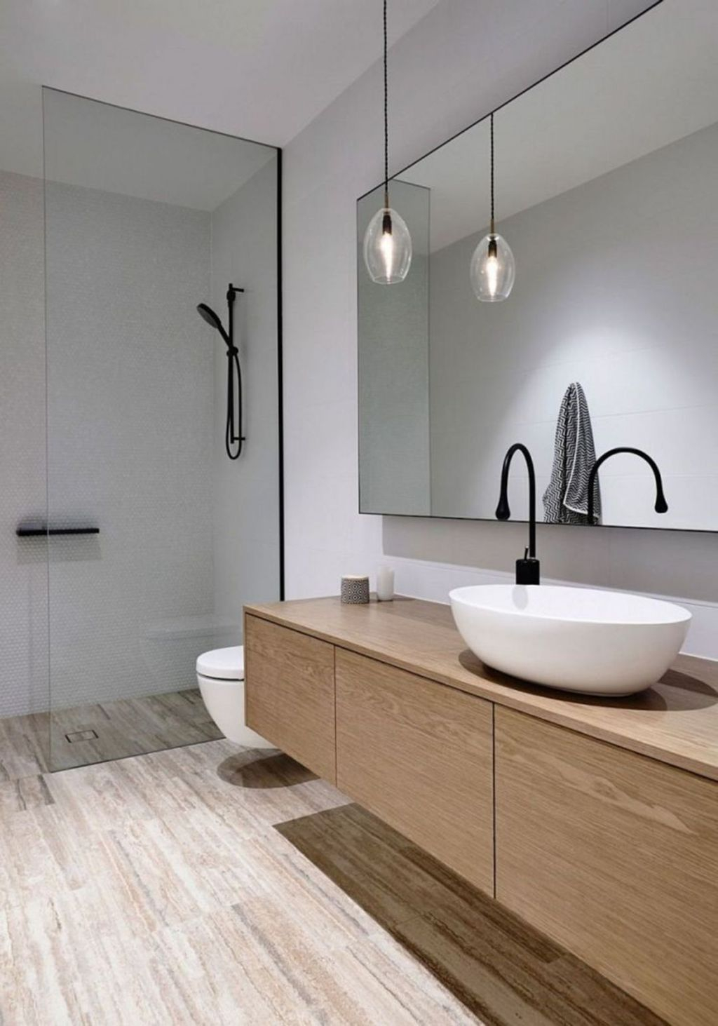 Best Minimalist Bathroom Design Ideas That Trendy Now 24