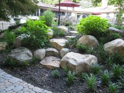 Casual Rock Garden Landscaping Design Ideas To Try This Year 28