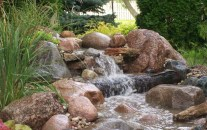 Creative Backyard Ponds Ideas With Waterfalls To Try 03