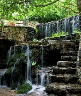 Creative Backyard Ponds Ideas With Waterfalls To Try 22