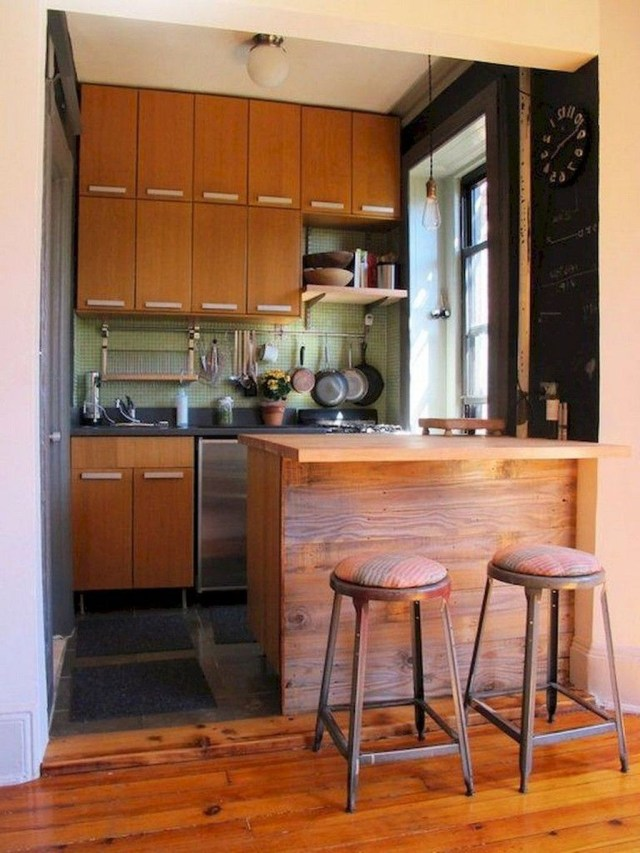 Hottest Wood Kitchen Set Design Ideas That You Can Try 01