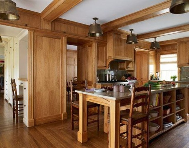 Hottest Wood Kitchen Set Design Ideas That You Can Try 10