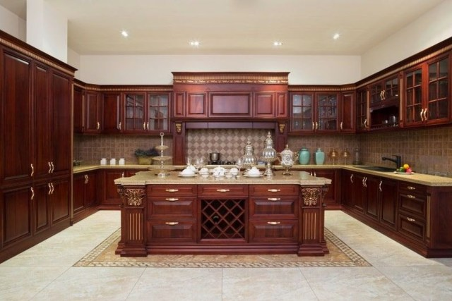 Hottest Wood Kitchen Set Design Ideas That You Can Try 22