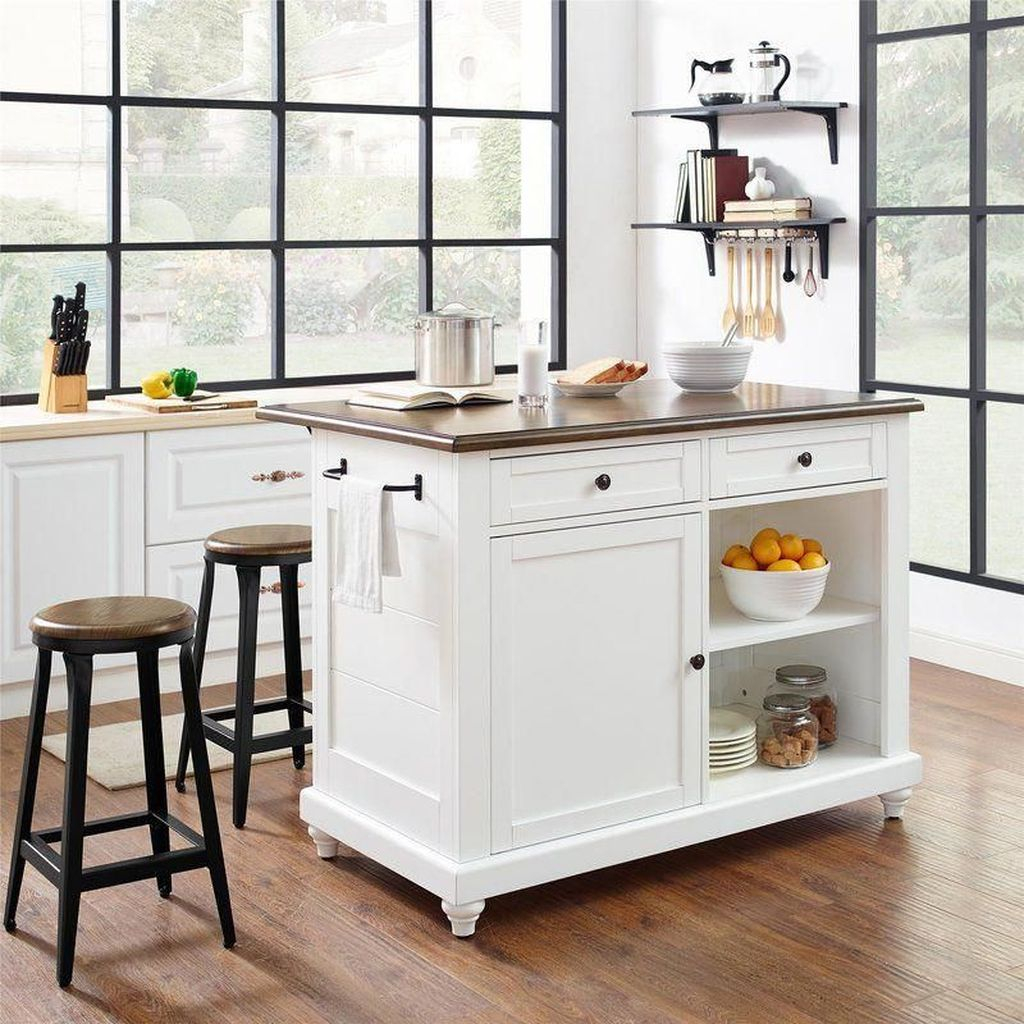 Hottest Wood Kitchen Set Design Ideas That You Can Try 28