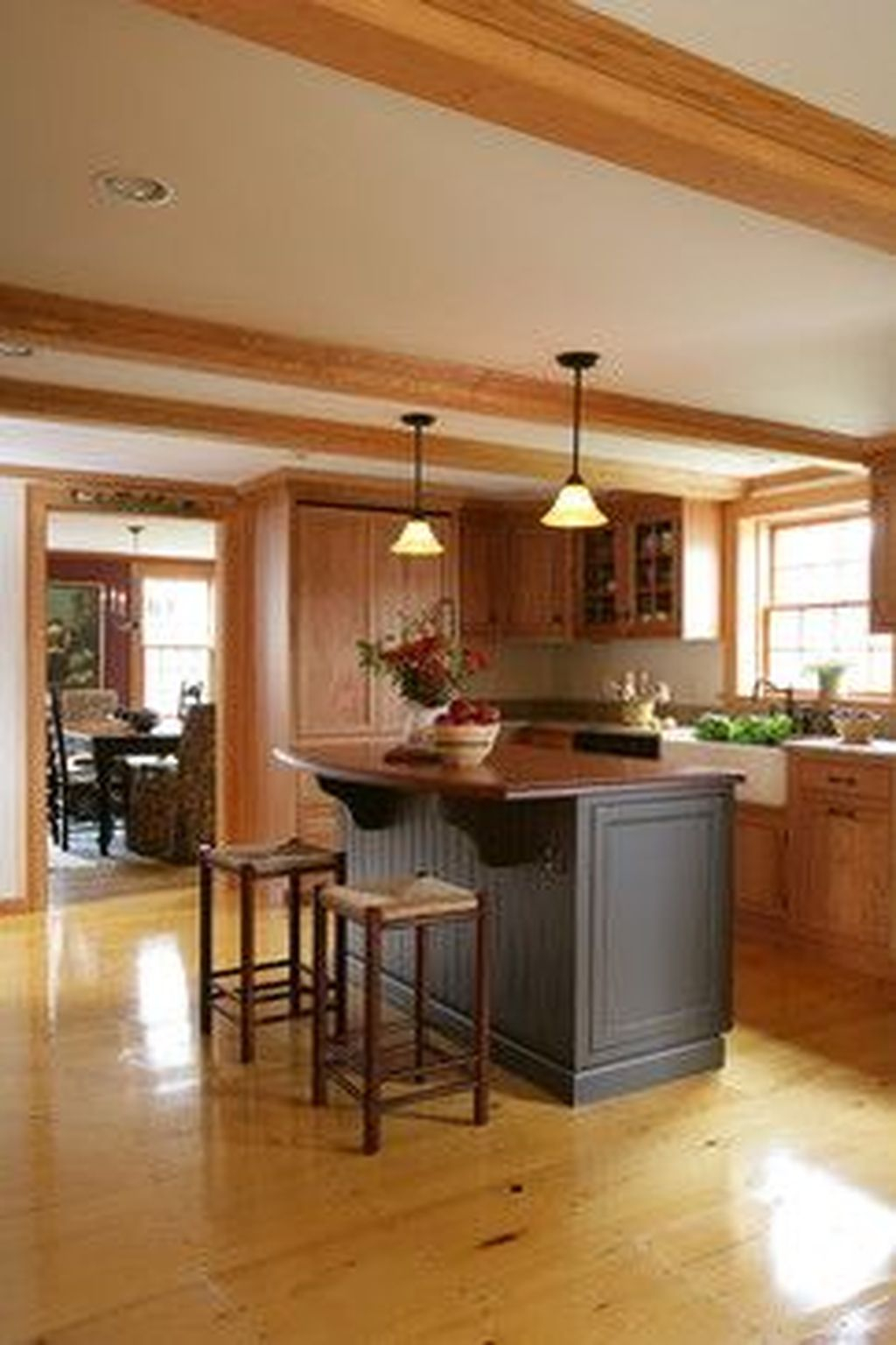 Hottest Wood Kitchen Set Design Ideas That You Can Try 30