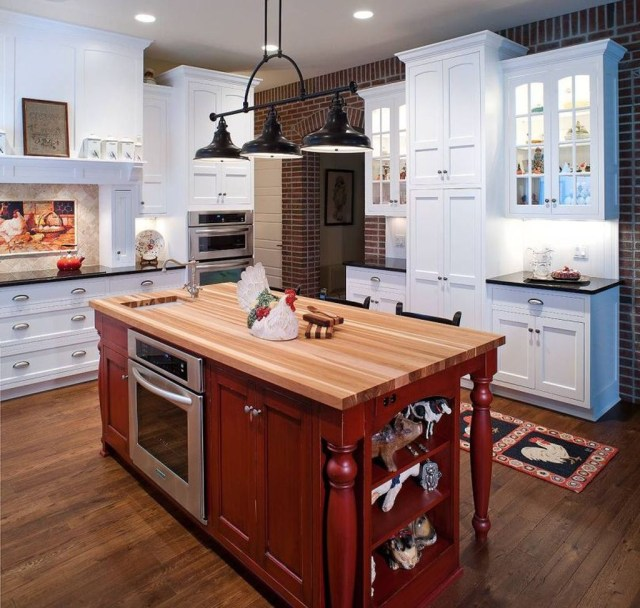 Hottest Wood Kitchen Set Design Ideas That You Can Try 35