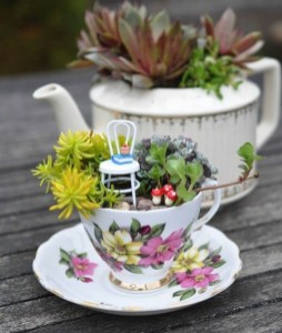 Inspiring Diy Teacup Mini Garden Ideas To Add Bliss To Your Home 19