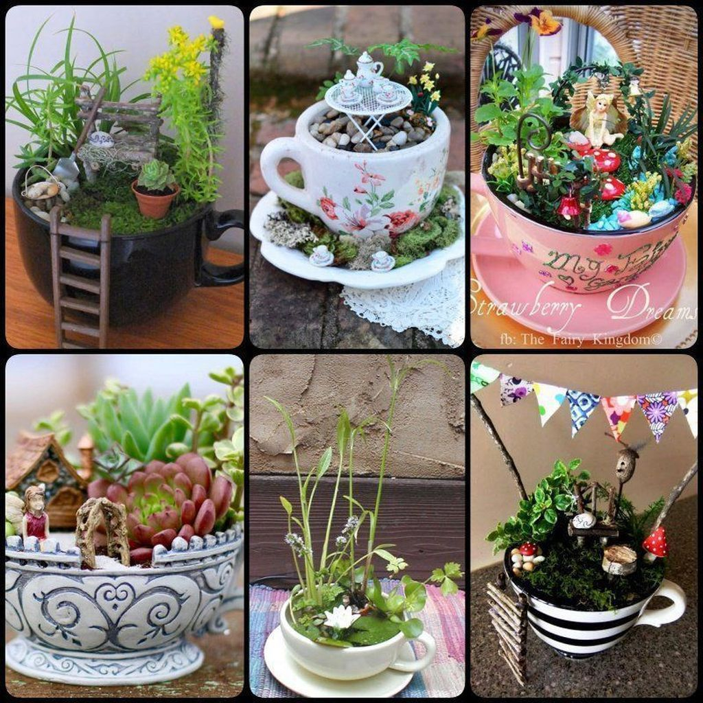 Inspiring Diy Teacup Mini Garden Ideas To Add Bliss To Your Home 27