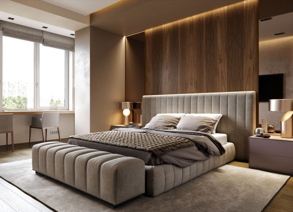 Lovely Bedroom Design Ideas That Make You More Relaxed 28