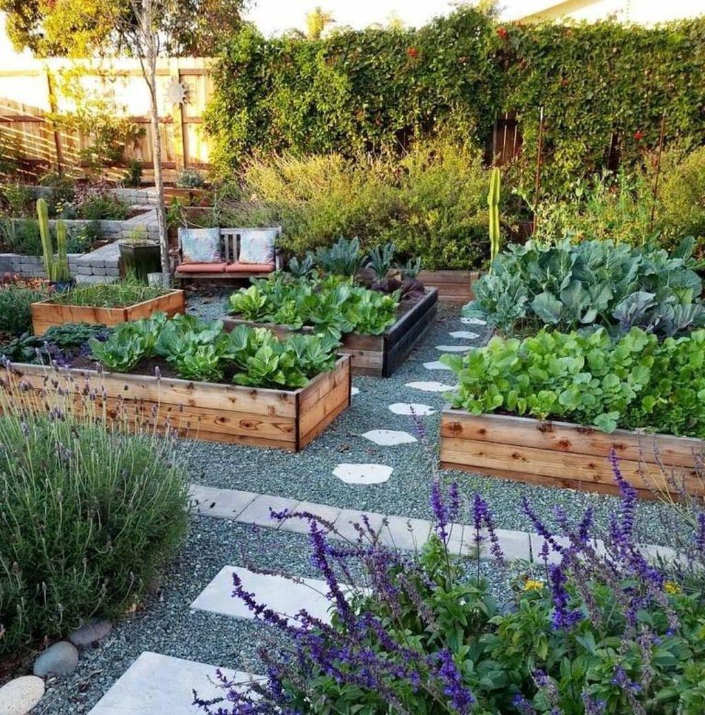 Lovely Vegetable Garden Decoration Ideas For You 09