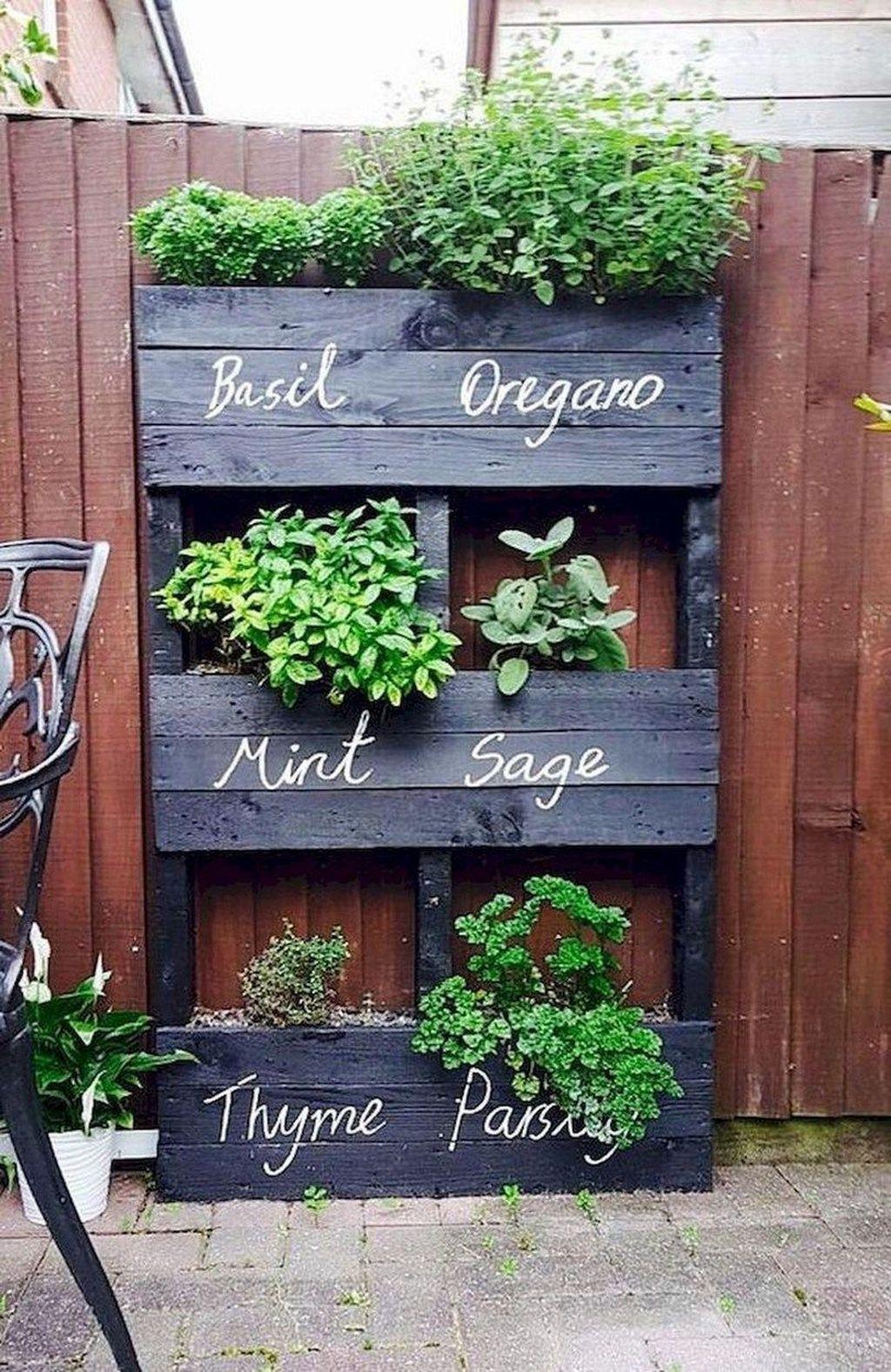 Lovely Vegetable Garden Decoration Ideas For You 22