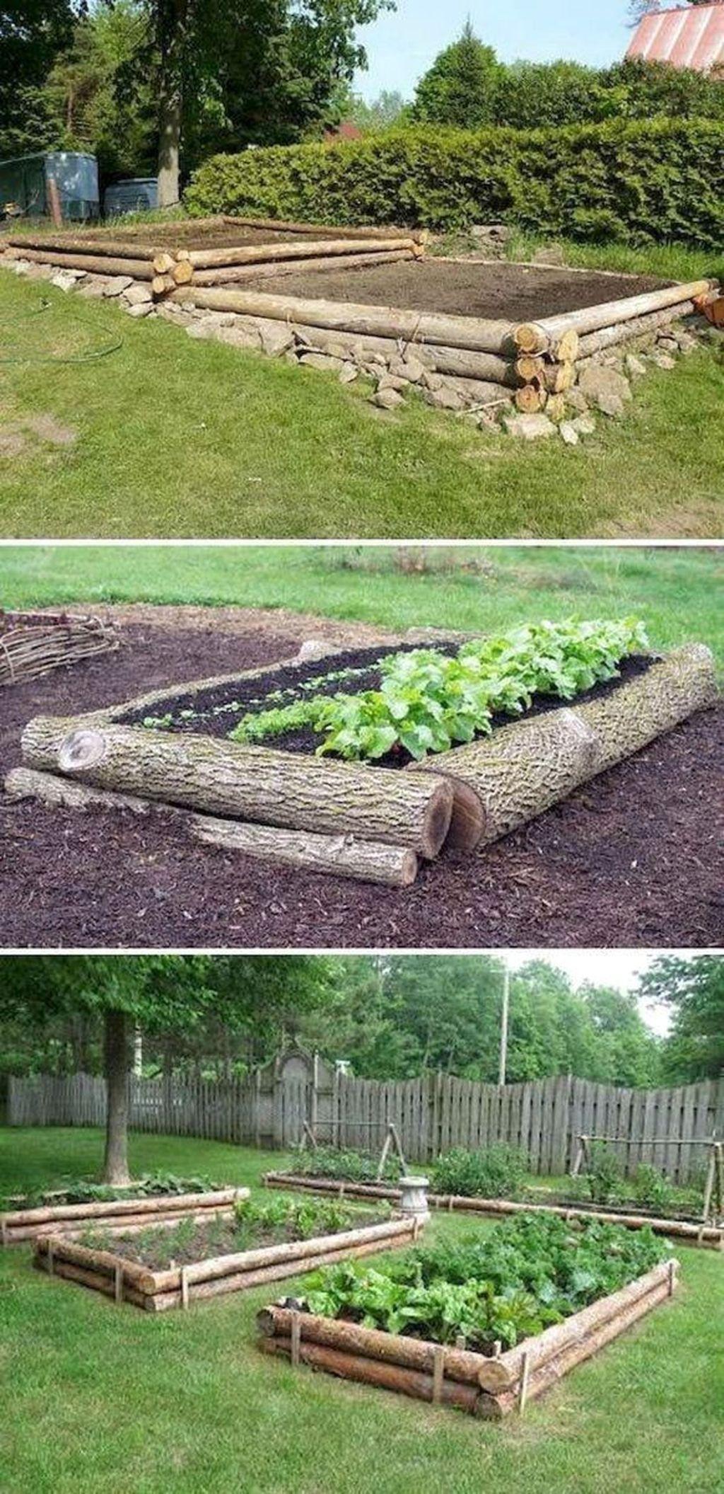 Lovely Vegetable Garden Decoration Ideas For You 31