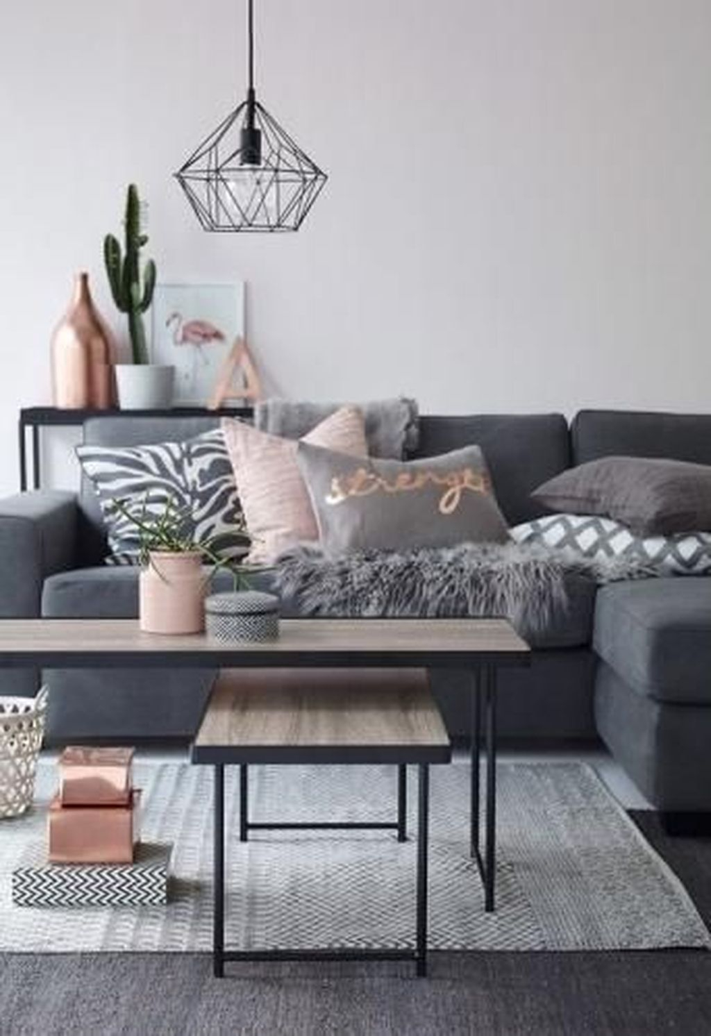 Luxury Living Room Design Ideas With Gray Wall Color 13