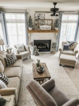 Magnificient Living Room Decor Ideas For Winter To Try 07