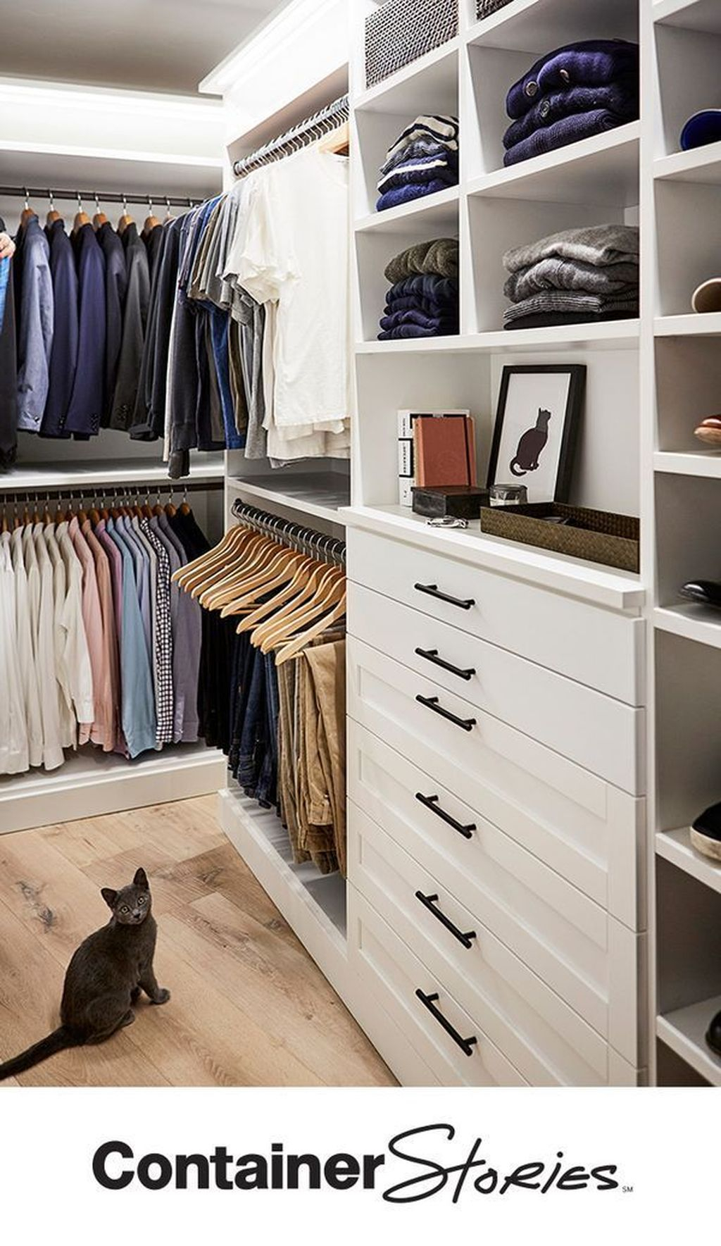 Modern Wardrobe Design Ideas You Can Copy Right Now 38