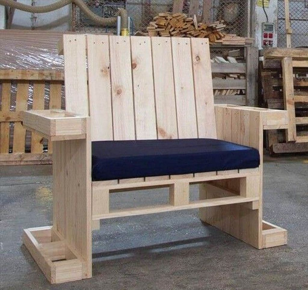 Popular Diy Chair Pallet Design Ideas That You Can Try 01