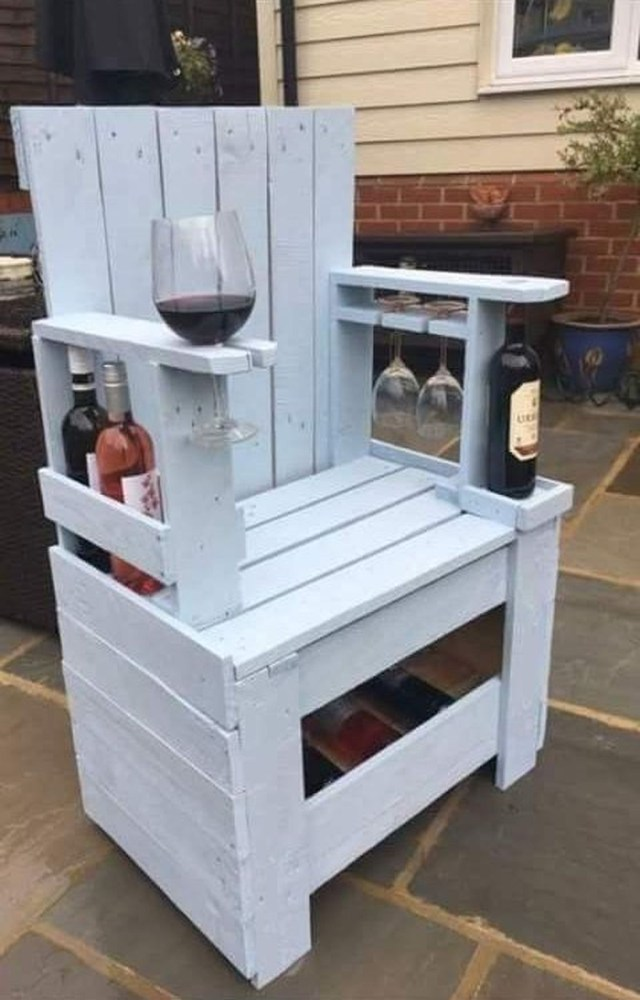 Popular Diy Chair Pallet Design Ideas That You Can Try 06