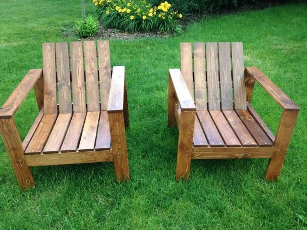 Popular Diy Chair Pallet Design Ideas That You Can Try 12