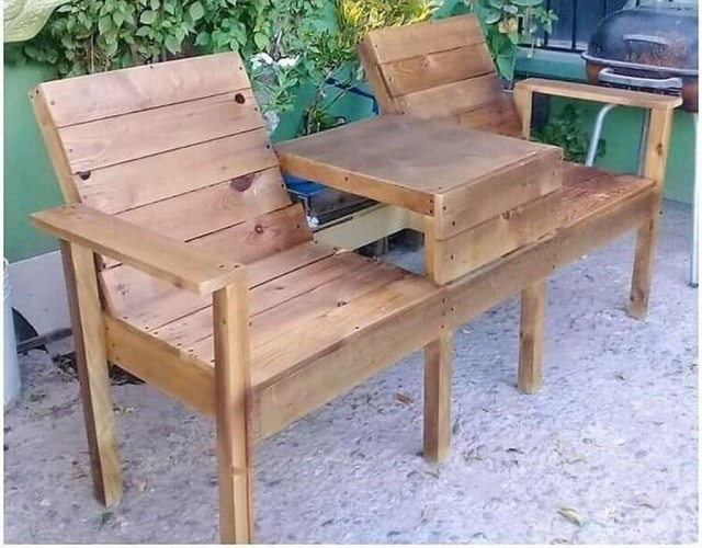 Popular Diy Chair Pallet Design Ideas That You Can Try 31
