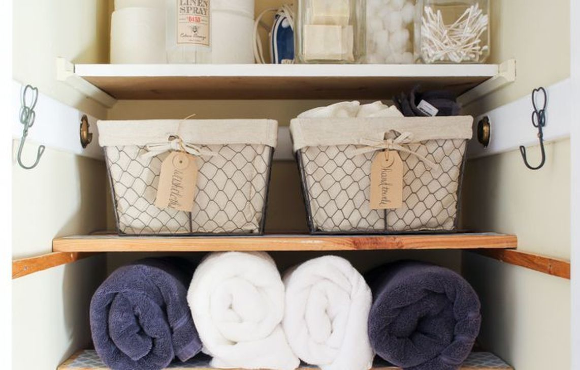 Smart Linen Closet Organization Makeover Ideas To Try This Year 01