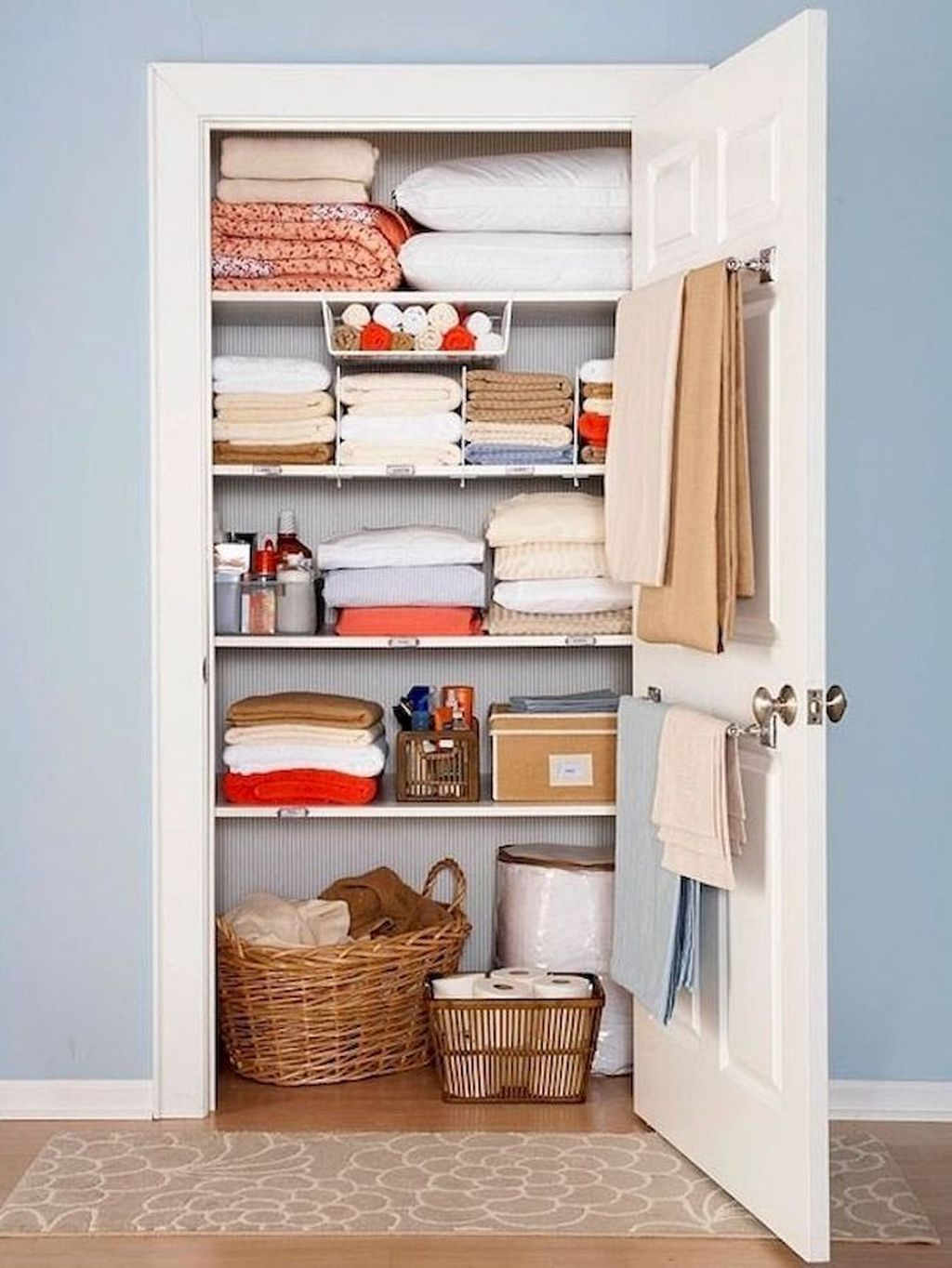 Smart Linen Closet Organization Makeover Ideas To Try This Year 03