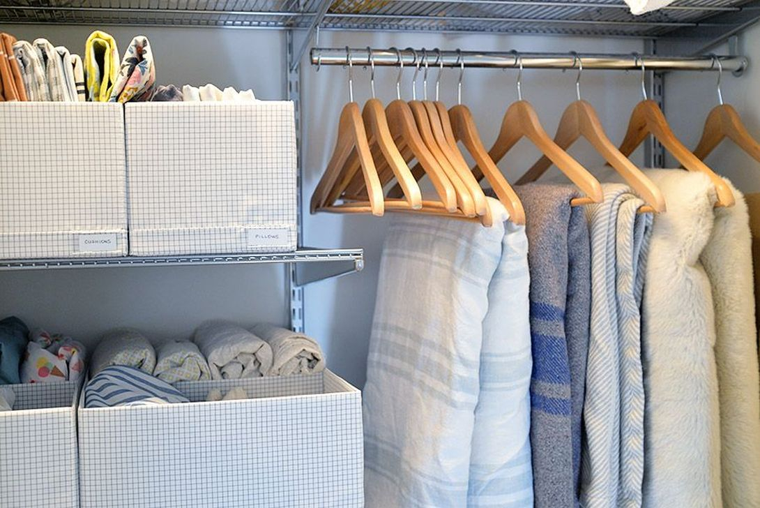 Smart Linen Closet Organization Makeover Ideas To Try This Year 21