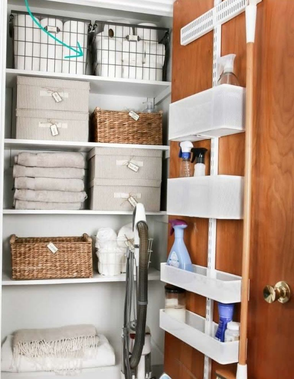 Smart Linen Closet Organization Makeover Ideas To Try This Year 24