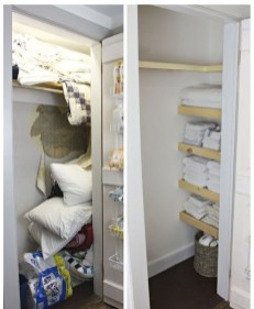 Smart Linen Closet Organization Makeover Ideas To Try This Year 34