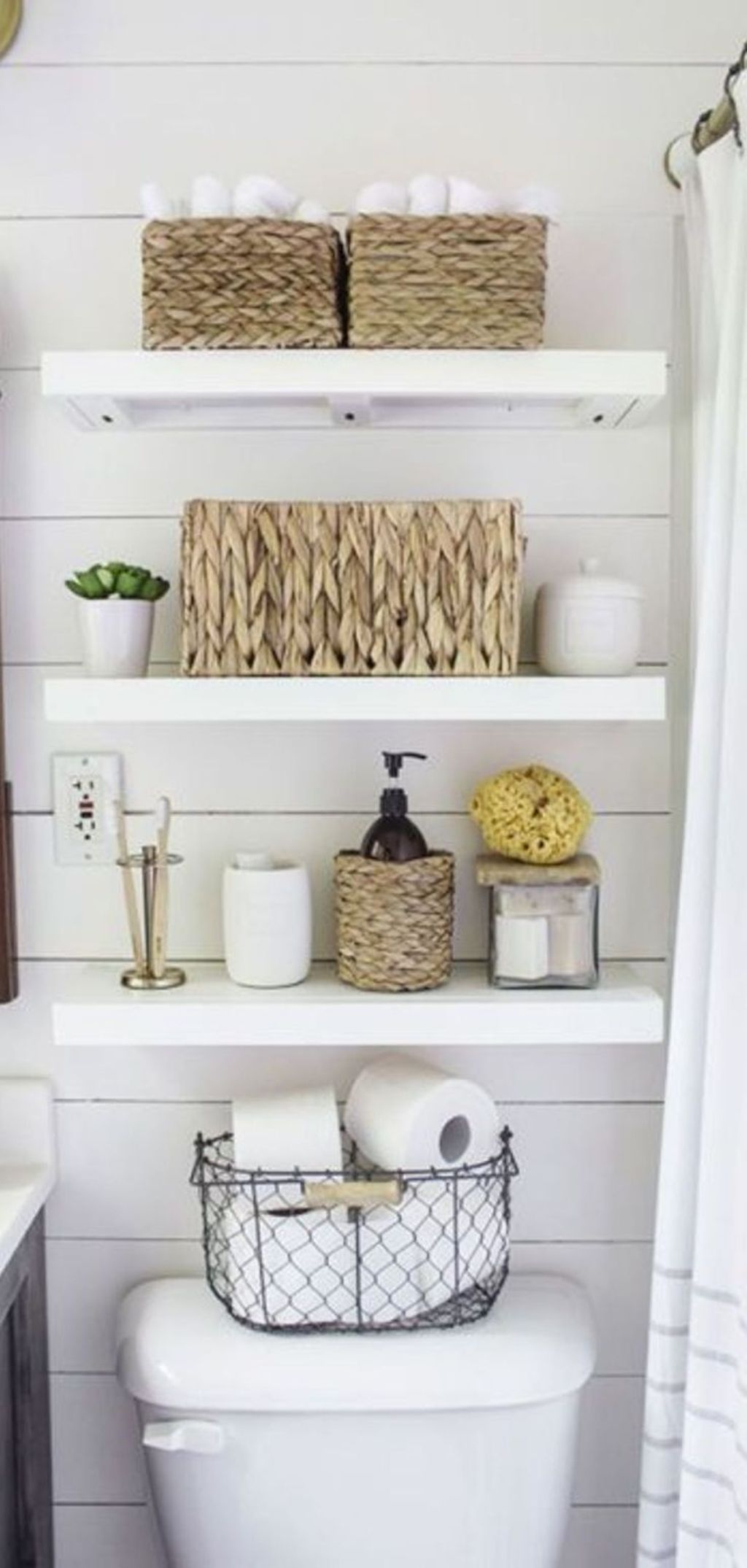 Spectacular Small Bathroom Organization Tips Ideas To Try Now 12