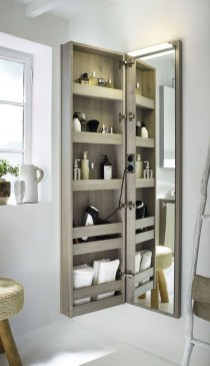 Spectacular Small Bathroom Organization Tips Ideas To Try Now 34