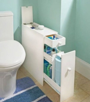 Spectacular Small Bathroom Organization Tips Ideas To Try Now 37
