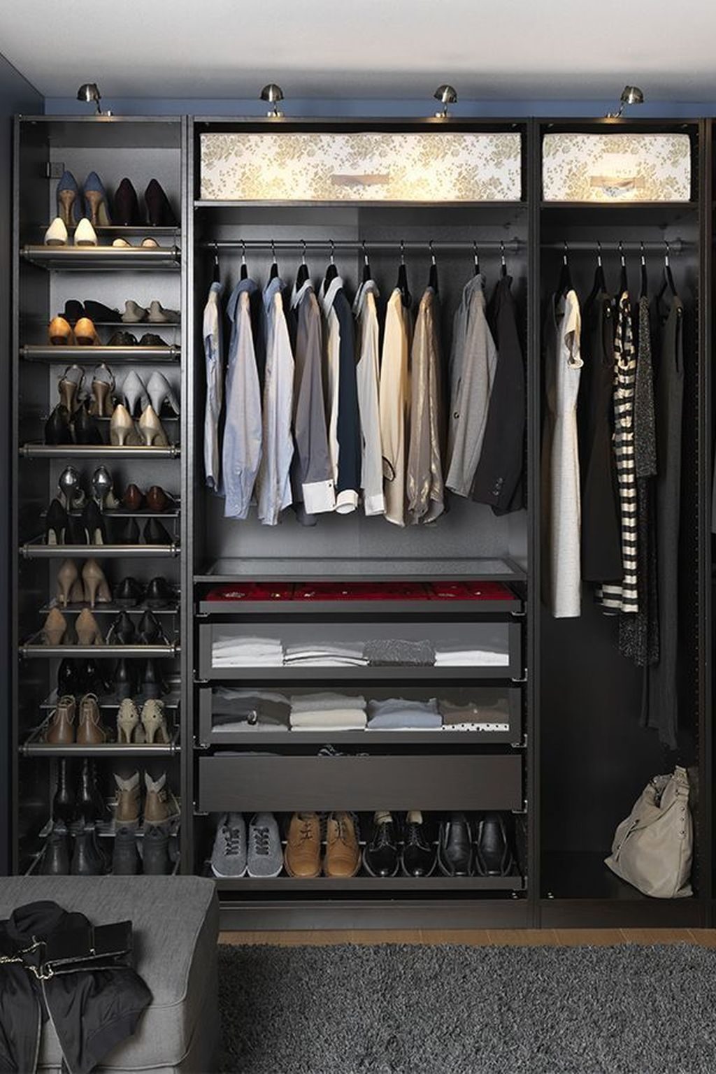 Splendid Wardrobe Design Ideas That You Can Try Current 34