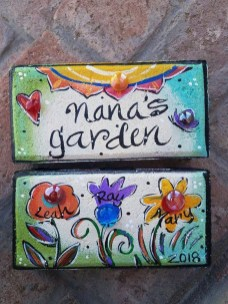 Stylish Diy Painted Garden Decoration Ideas For A Colorful Yard 08