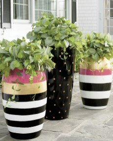 Stylish Diy Painted Garden Decoration Ideas For A Colorful Yard 28