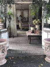 Captivating French Country Patio Ideas That Make Your Flat Look Great 21