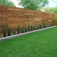 Charming Privacy Fence Design Ideas For You 20