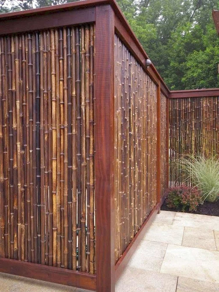 Charming Privacy Fence Design Ideas For You 27