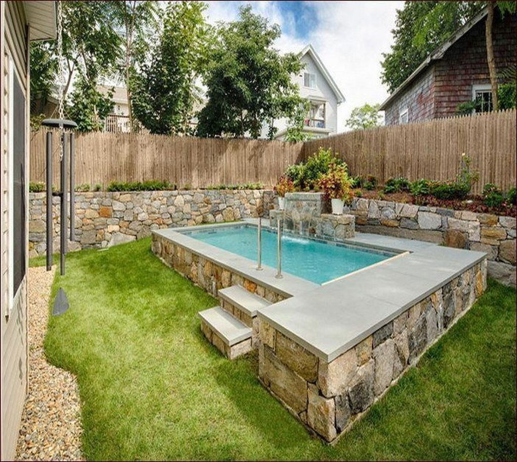 Excellent Small Swimming Pools Ideas For Small Backyards 32