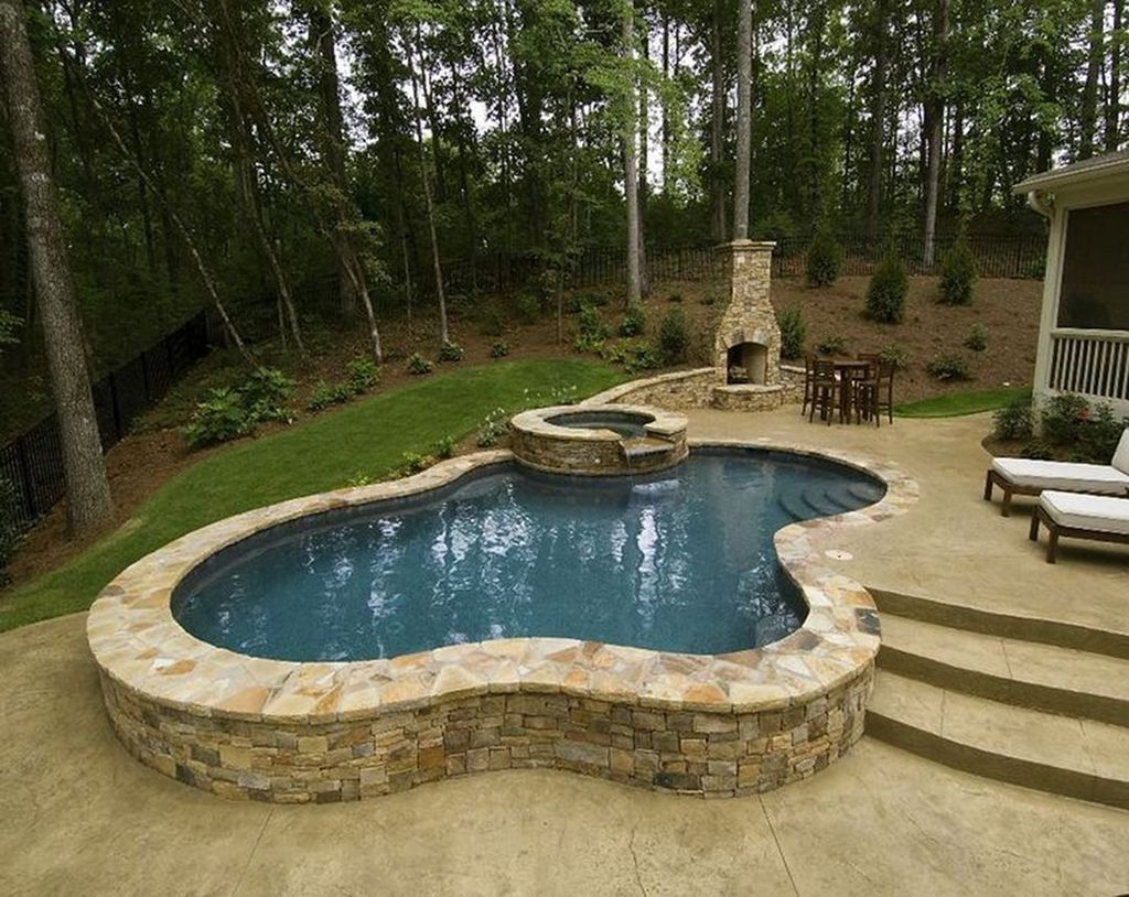 Excellent Small Swimming Pools Ideas For Small Backyards 43