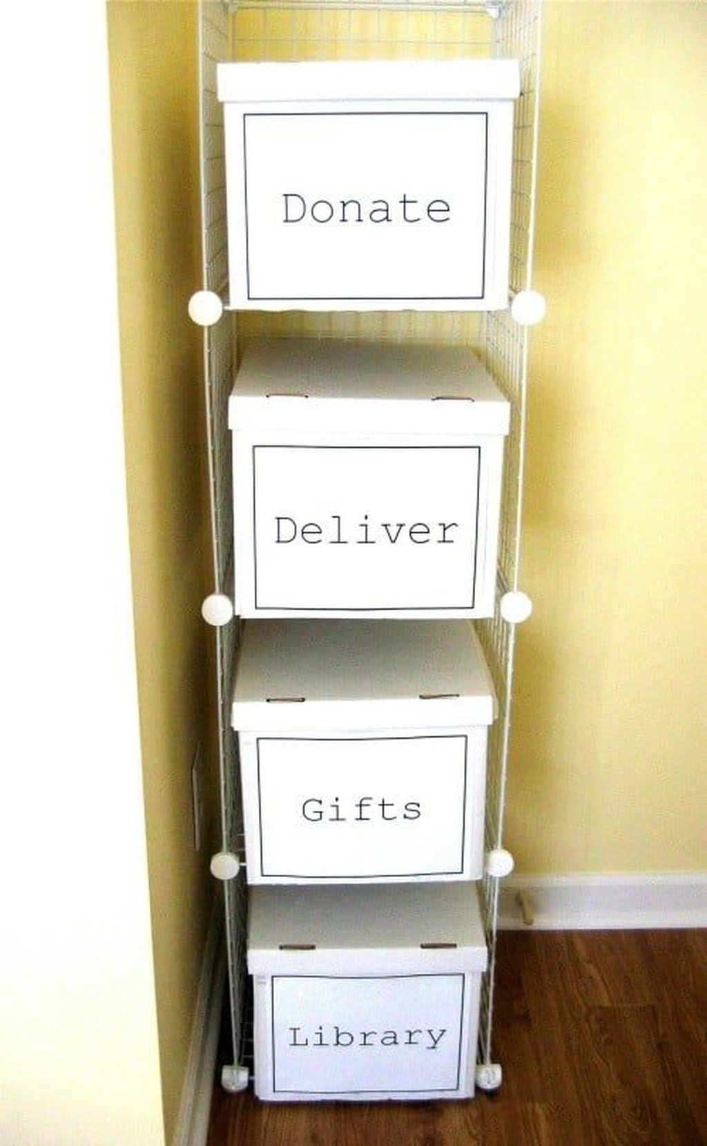 Fancy Diy Organizing Storage Projects Ideas To Try 32